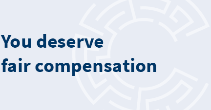You deserve fair compensation